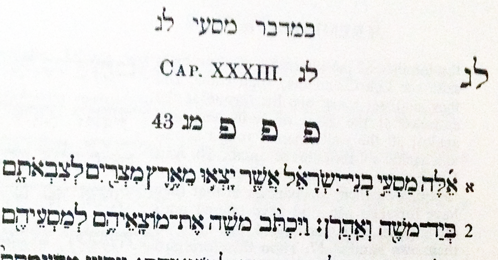 Numbers 33