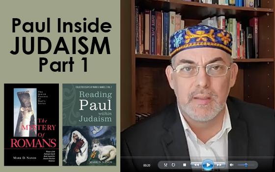 Paul Inside of Judaism