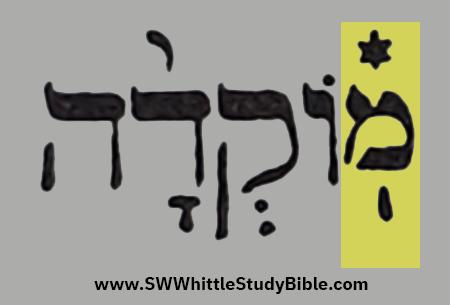 Leviticus (Vayikra) 6.2 Deminished Mem